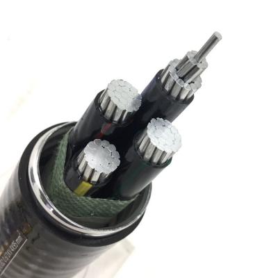 铝合金电缆线YJHLV3芯4芯5芯室外工程线16/25/35/50平方4*95平方